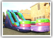 dallas inflatable slide